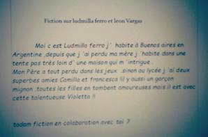 Fiction leonmila Prologue +cherche  colaboratrice  pour  cette fiction