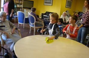 PREPARATION DE MERVEILLES AVEC LES ENFANTS