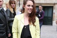 Kristen à la fashion week parisienne Balanciaga