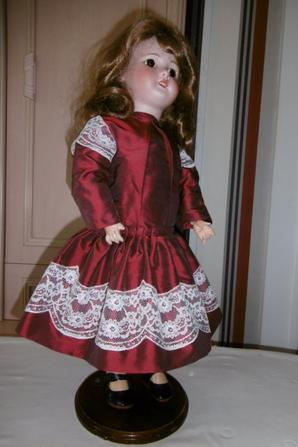 reproduction d'une robe ancienne