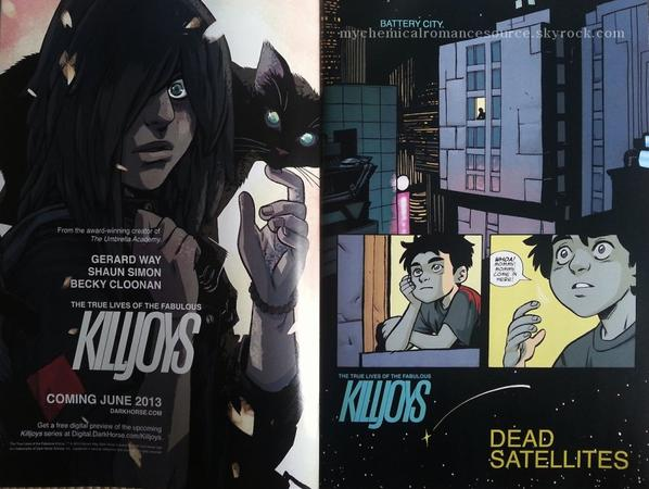 KILLJOYS : les cinq pages de la preview présentée au Free Comic Book Day (tumblr)