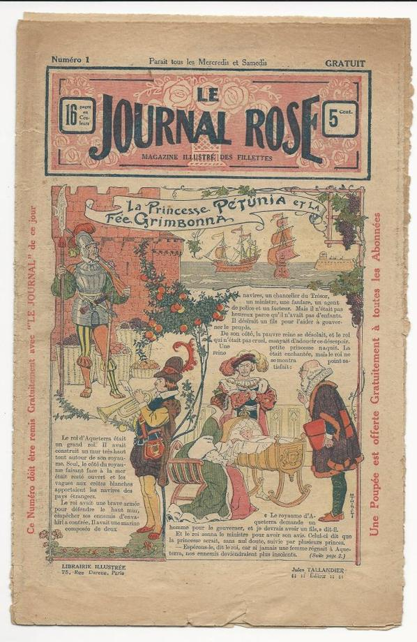odette le journal rose 1912/14