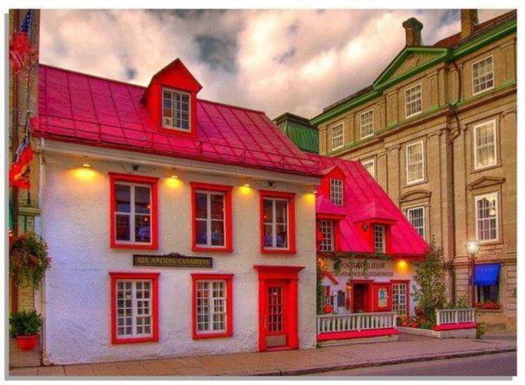 petite maison rouge