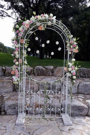 mariage de willy et aurelie réalisé par fleur'art