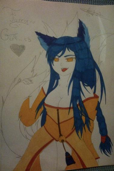 Furry-Girl by #Neko