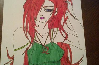 """Cheveux rouges"" by #Neko"