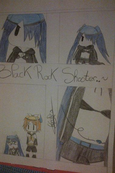 """Miku Rock Shooter"" by #Neko"
