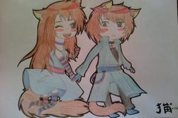 Couple Furry by #Neko