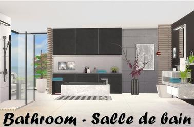 Sims 4 : Collection Black White de ung999's