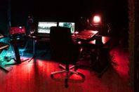 En studio pour l'enregistrement du nouveau single avec Eric Baumont, Angelo Crisci et Chris Cerri