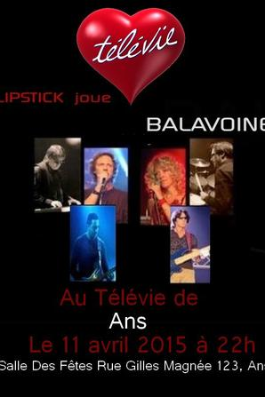 Lipstick au Télévie d'Ans - Liège
