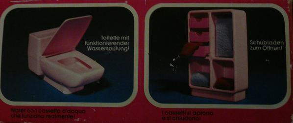 Placard et toilettes n°1045 de 1979