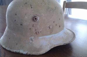 casque a boulon mod 16 allemand