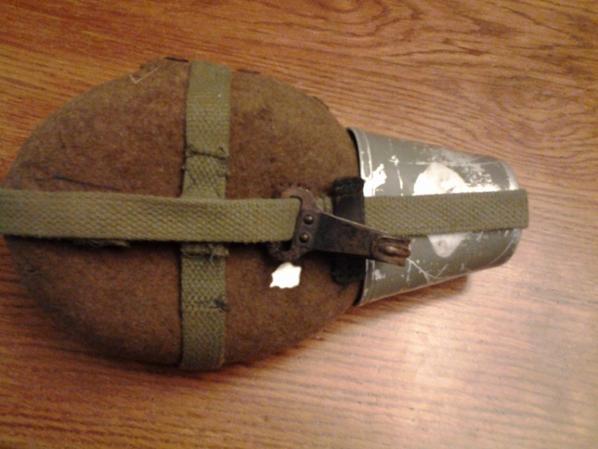 gourde allemande basique converti en type Afrika korps ww2