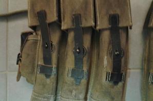 ma paire de porte chargeur STG44, comme prévu bien patiné et vieillis