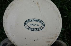 nouvelle rentrée : jarre ou cruche anglaise S.R.D ww2