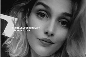 01 / 09 / 2016 : Camille, via le compte Facebook de Danse avec les stars, a effectué un live. Elle a répondu a des questions concernant sa participation à l'émission, sa forme physique et son niveau de danse. Elle a également remercié ses fans pour leur soutien et a également ajouté qu'elle avait hâte de les retrouver.