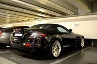 Mercedes SLR Mclaren Roadster & Mercedes C63 AMG Black Series