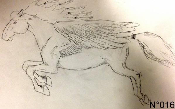 Planche N°1 -> Les chevaux