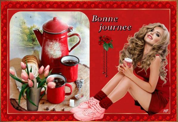 Je vous offre le café du matin !!