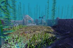 • Zone de plongée - Ruines celtiques immergées •