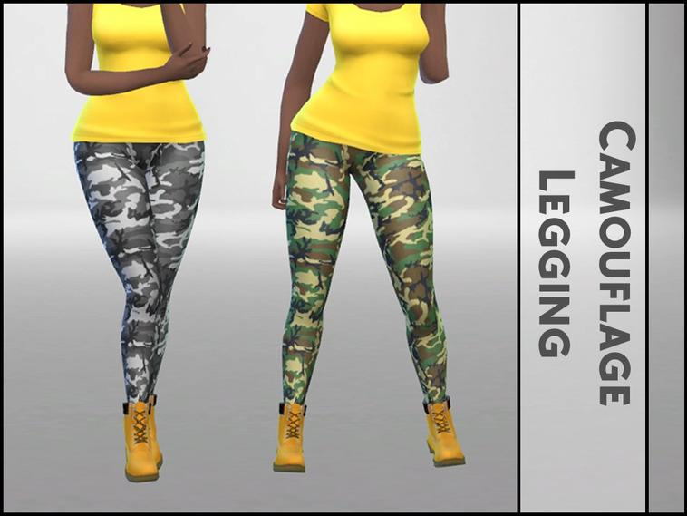 • Legging Camouflage •