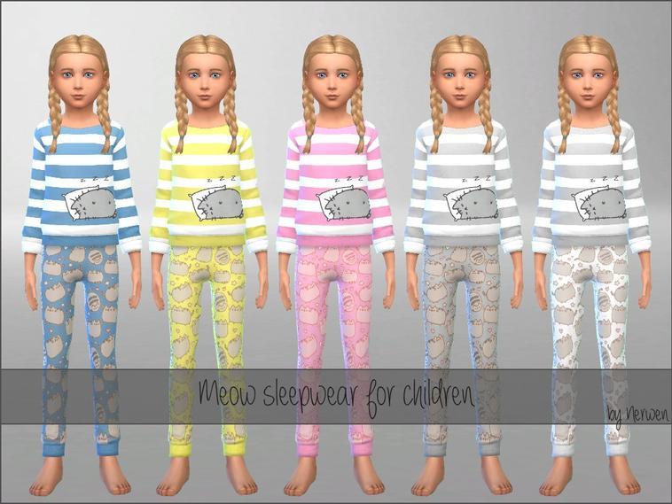 • Pyjamas Meow •