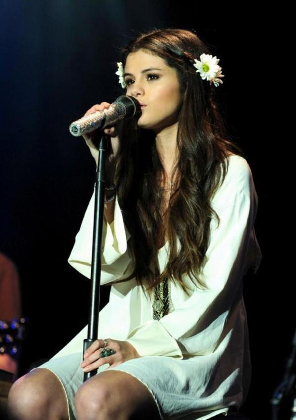 Selena Gomez pour son concert au UNICEF. :)