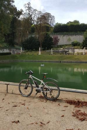 sortie a vélo au parc de saint cloud 2016