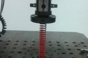 Raideur ressort moteur rouge Doppler