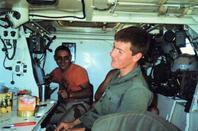 intérieur VAB TRANS guerre du golfe 1990/1991