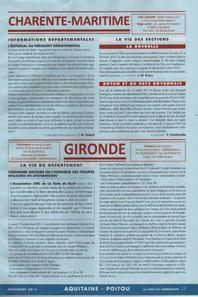Article voix du Combattant Décembre 2013