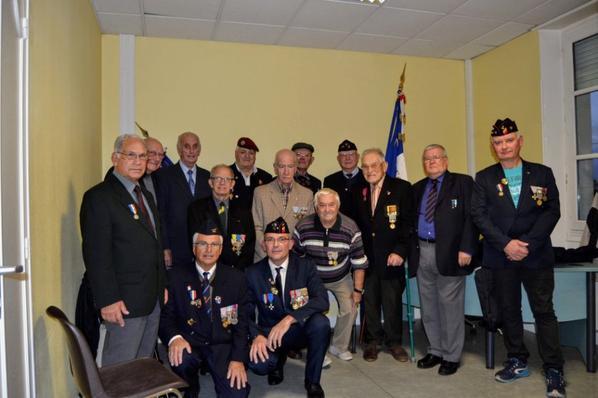 Les membres de l'association UNC de la Teste de Buch