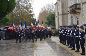 Cérémonie armistice du 11 novembre 1918 à la Teste