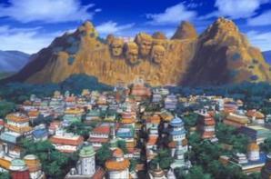 Village caché du pays du feu