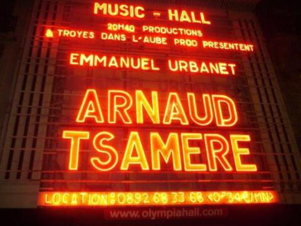 Arnaud à l'Olympia...j'y étais :D