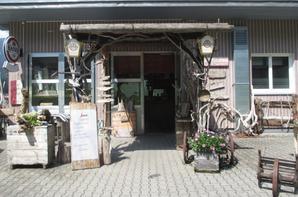 Quelques jours en Autriche à Elmen - Café Treibholz (Café au bois flottant)