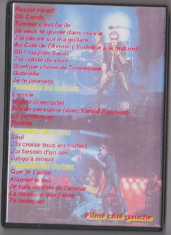 DVD Arènes de Nîmes : 2 juillet 2015 filmé côté gauche