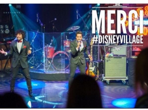 Merci à Disney Village pour ces supers shows !