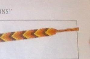 Bracelets Brésiliens Chevrons  et  Zig Zag  12 Fils - 6- 6 - (2)