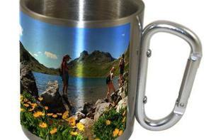Mug inox double parois 220ml et 300ml