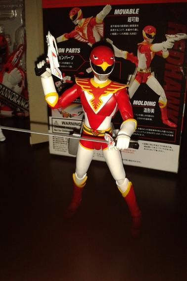 Bandai SH Figuarts Chojin Sentai Jetman Rouge (Redhawk) et Chojin Sentai Jetman Noir (Black Condor)