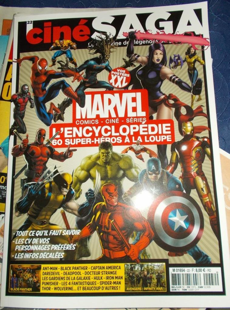 Magazine Ciné Saga Spécial Marvel