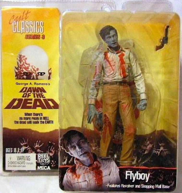 "NECA Cult Classics Series 3 - Figurine Flyboy Zombie  ""Dawn of the Dead"""