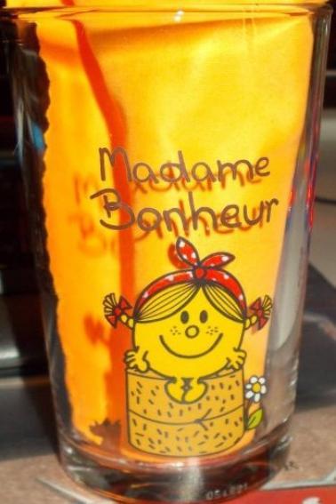 Verres Monsieur Madame Bonhomme Partie 6
