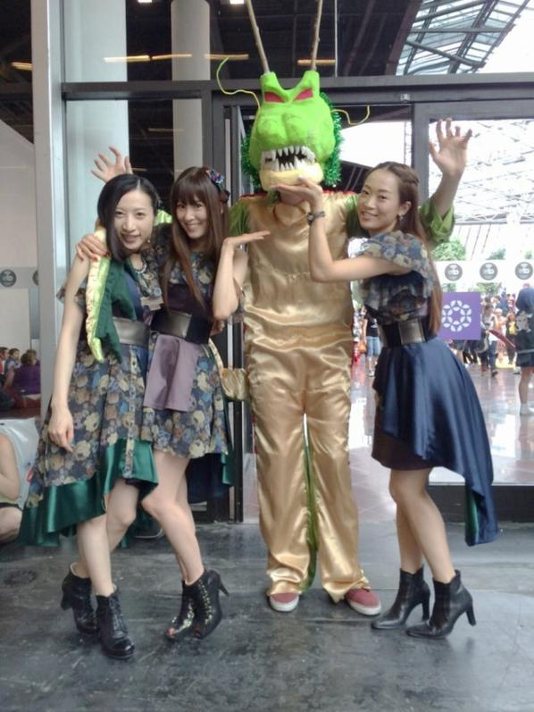 Kalafina à la Japan Expo 1