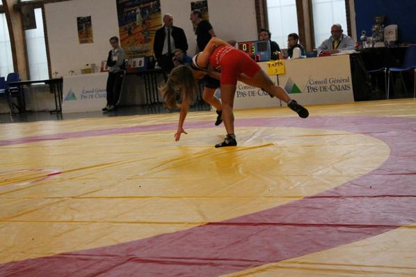 sandy seconde en cadette 52kg