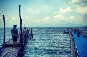 Ian était en Thaïlande en compagnie de Nina Dobrev