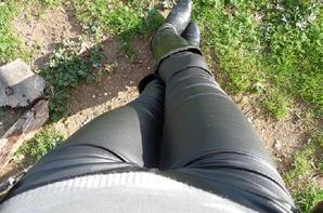 Nouveau pantalon en skaï