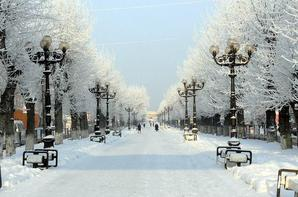 winter's Tale in a kingdom of snow.